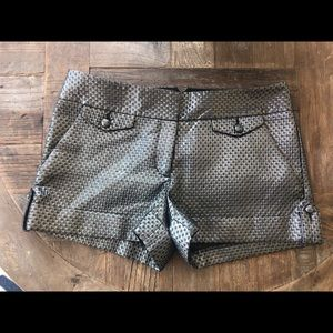 NWT Express metallic shorts